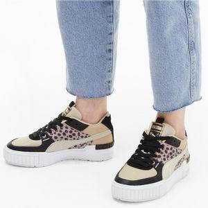 NWT Puma Cali Sport Wildcats Cheetah Sneaker